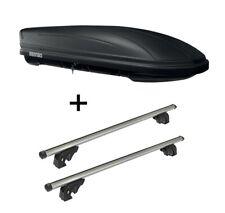 Dachbox MAA400L matt+Dachträger VDPLION2 für Bmw X3 E83 5Türer 04-10