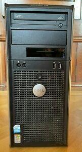 Dell Optiplex GX745 PC computer Intel P4 HT, 4GB Ram 500GB Hard Drive TESTED