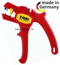 Felo Automatic Wire Stripper 24-10 AWG, 0.2-6mm, 6-15mm Strip Length w Cutter