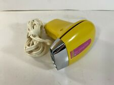 Vintage Penncrest Travel Electric Hair Dryer *SPOTLESS* Working Yellow