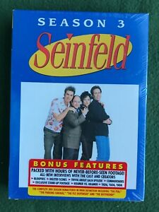 Seinfeld - Season 3 DVD 2004 4-Disc Set New Sealed Jerry George Kramer Elaine