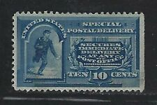 1888 U.S. Scott #E2 - 10c Messenger Running Special Delivery Stamp - MH