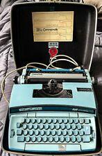 Smith Corona Coronet Super 10 Coronamatic Electric Typewriter Blue with Case