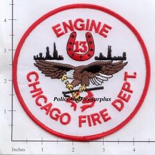 Illinois - Chicago Engine 13 IL Fire Patch - Eagle