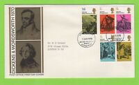 G.B. 1970 Literary Anniversaries set on Post office First Day Cover