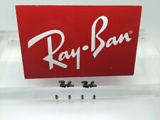 Authentic Rayban RB 8412 Replacement Icons & Screws for temples Genuine Parts