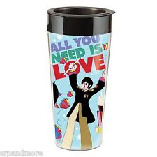 The Beatles All You Need Is Love Plastic Travel Mug-Great Gift Idea