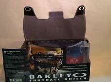 New Oakley 42-004 Adult 20% Dark Grey Football Visor Eye Shield