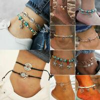 New Boho Ankle Bracelet Anklet Chain Foot Beach Sandal Jewelry Gift For Women