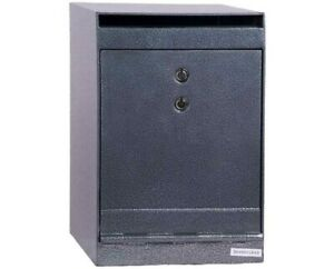 Hollon B-Rated Depository Safe with Dual Key Lock 0.36 cu. ft.