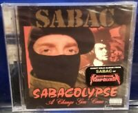 SABAC - Sabacolypse: A Change Gon Come CD SEALED jedi mind tricks ill bill necro