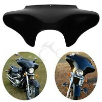 Vivid Black Front Outer Batwing Fairing For Harley Davidson Softail Dyna