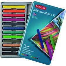 Derwent Inktense Watercolour Pencils Tin Set of 12