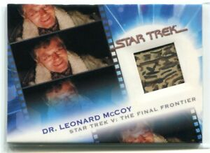 2007 Complete Star Trek Movies Costumes 14 Dr. McCoy Costume Relic 1144/1701