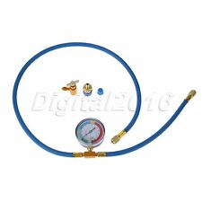 R134A Refrigerant Air Conditioning Charging Hose Can Opener Thread Brass Adapter