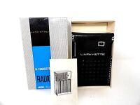 Vintage Lafayette #1414LR Transistor Radio - in Box w/Papers - Hong Kong