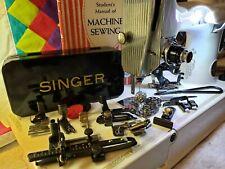 Rare Blackside Singer Sewing Machine Attachments~ Fit Featherweight 221 Bonus!