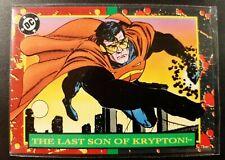 Superman Promo Card , Sky Box 1993    Number P3                              (R)