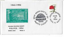 POLPEX 1994 Monte Cassino cachet/cancel. (PC1994B)