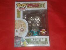 Funko Pop! Sci-fi Mars Attack Martian #01(Metallic)  SDCC 2012 LE 480 Pcs