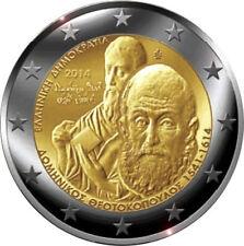 """Grèce - 2 Euro commémorative 2014 """"El Greco"""" UNC"""
