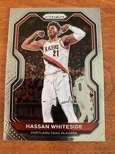 2020-21 Panini Prizm Base #158 - Hassan Whiteside - Portland Trail Blazers
