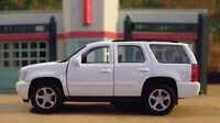 New Welly Approx. 1/43 Scale Diecast White Chevrolet Tahoe