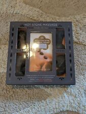 Hot Stone Message Book And Stone Kit.
