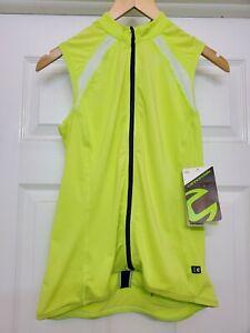 Cannondale Women's Prelude Sleeveless Cycling Biking Jersey Cucumber Size XS