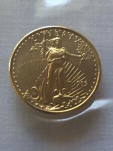 1999 AMERICAN GOLD EAGLE $5 1/10 OUNCE