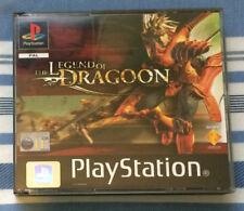 La leyenda de dragón-Playstation PS1 Juego, RPG, Raro