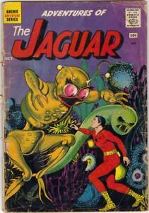 Adventures of the JAGUAR #2 - OCT. 1961 FR (1.0)