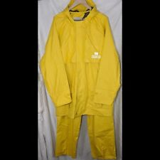 US Airways Bright Yellow Raincoat PantsWearguard Rain Gear Size XL Wet Weather