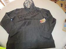 Reebok Charcoal heather sweat shirt Men's hoody Hoodie sport trailer jacket M MD