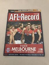 AFL 2002 Football Record Collingwood V Richmond Round 16