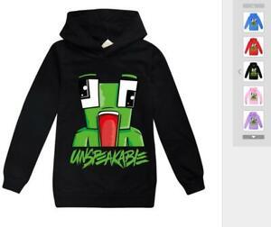 Unspeakable Moosecraft Kids Boys Girls Long Sleeved Sweater Hoodie Pullover New