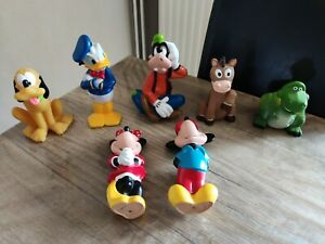 Jouet pouet rigide disney mickey minnie dingo et autres pixar toy story