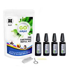 More details for canon pixma ip4600 printer ink cartridge refill kit black for pgi-520 bk