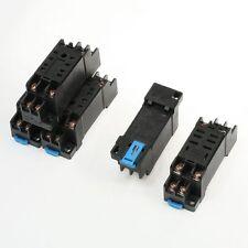 5 Pcs 35mm DIN Rail Mount DYF08A 8Pin Relay Holder Socket Base for MY2-J