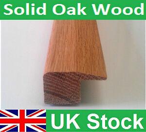 Quality Solid Oak Wood Flooring Square Edge End Threshold 1 metre length