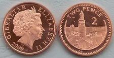 Gibraltar 2 peniques 2000 p774 unz.
