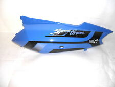 Carénage latéral arrière gauche bleu pour Sachs Speedforce 50 orig. NEUF