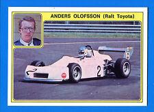 SUPER AUTO - Panini 1977 -Figurina-Sticker n. 36 - ANDERS OLOFSSON -New