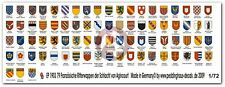 Peddinghaus 1/72 French Knight Shield Emblems Crecy and Agincourt (79 pcs.) 1903