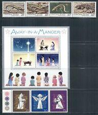 CHRISTMAS ISLAND 112-47 SG144-80 MNH 1981-83 Commemoratives 5 sets, 1MS Cat$10