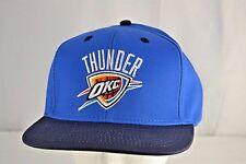 Oklahoma City Thunder Blue/Black Baseball Cap Snapback