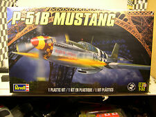 WWII P-51B MUSTANG FIGHTER PLANE REVELL 1:32 SCALE PLASTIC MODEL AIRPLANE KIT