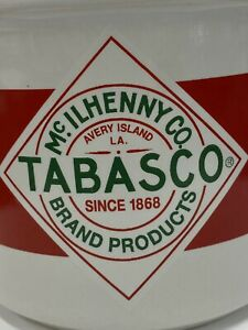 TABASCO Coffee Tea Mug Cup McILHENNY CO Advertising Red Hot Spicy