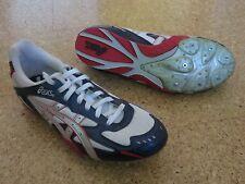 Asics, Leichtathletik, Spikes, Running, blau, weiß, rot, Gr. 42 (9), 27 cm, NEU!