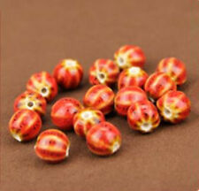 5pcs Varied Shapes Ceramic Porcelain Loose Spacer Beads DIY Jewelry Makings New